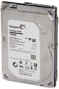 Seagate Desktop HDD - 1000GB - 64MB Cache - SATA 6GBs - 7200RPM
