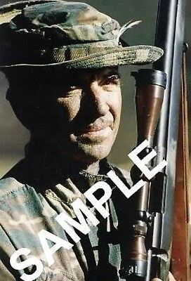 CARLOS HATHCOCK MARINE CORPS SNIPER 4X6 COLOR PHOTOGRAPH FREE SAME DAY SHIPPING