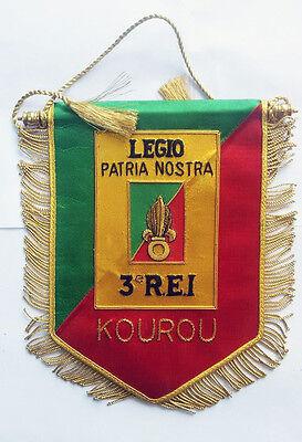 French Foreign Legion Pennant Original 3rd Infantry Regime Surplus