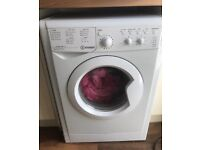 White Indesit washing machine professionally reconditioned