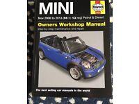 Haynes Workshop Manual Mini MK 2 Nov 56-13 Reg