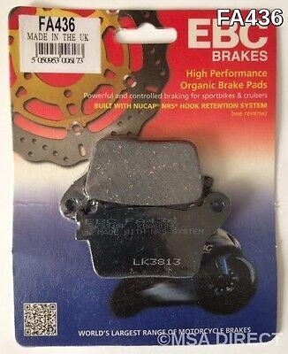 Honda CBR1000RR Fireblade (2006 to 2016) EBC Kevlar REAR Brake Pads (FA436)