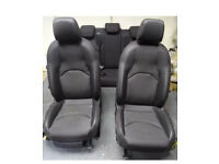 Seat leon fr cupra half leather seats red stitched mk3 2013+
