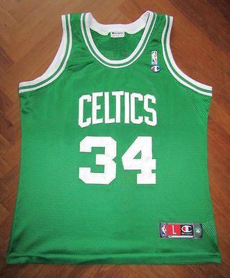 Canotta maglia PIERCE BOSTON CELTICS NBA basket jersey trikot AUTHENTIC  CHAMPION 6e7fd58d9ac5