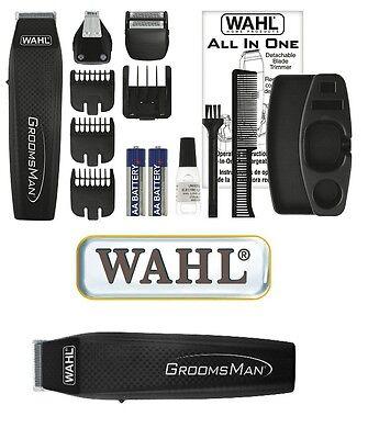 WAHL GROOMSMAN Batteria, Corpo Intimo Body Rasoio Trimmer BodyGroomer, 42491
