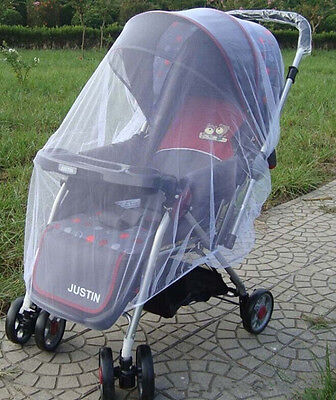 Mosquito Net, V-FYee Bug Net for Baby Strollers Infant Carriers Car Seats White