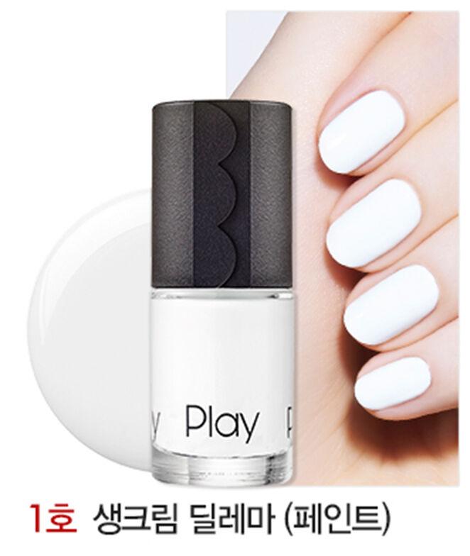 ETUDE HOUSE - New Play Nail Polish or Base & Top Coat ( KOREA Genuine )