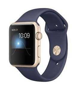 Apple Watch Series 1 Sport 42mm Gold with AppleCare Plan NEW West Island Greater Montréal image 1