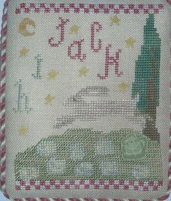 Finger Work j Is For Jack Pattern