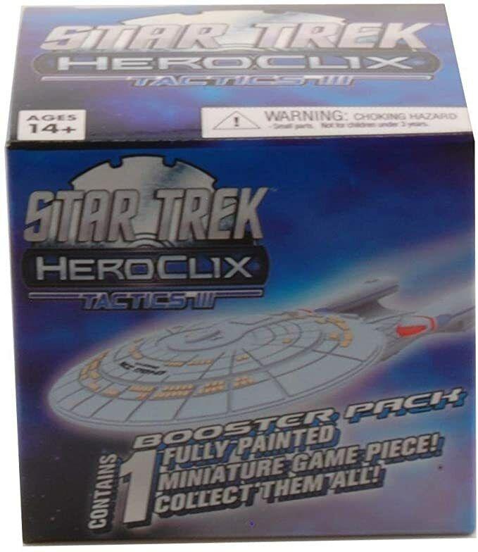 Star Trek Heroclix Tactics Series III Booster Pack