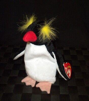 """TY Beanie Baby 2000 """"Frigid"""" Plush Stuffed Animal Toy"""