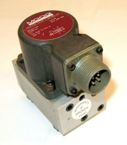 Moog Atchley 211a-630 Servo Valve New W/warranty