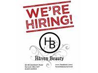 Hair Stylist / Hairdresser Needed,Norwich City Centre Salon Job