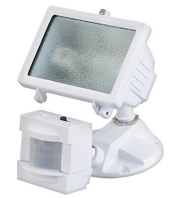 Heath Zenith Hz 5511 Wh Motion Sensor Halogen Light 150