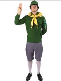 Adult Boy Scout Fancy Dress Costume