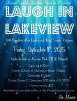 Dinner & Comedy in the Park - Tickets avail now for Fri Sept 11