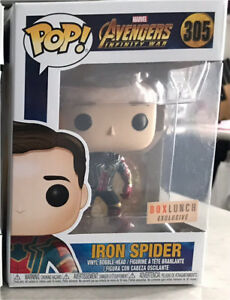 Unmasked Spider Man box lunch exclusive