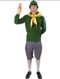 Adult Boy Scout Fancy Dress Costume