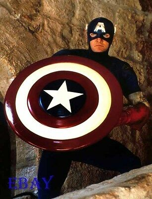 Captain America 1990 movie Rare 35mm Slide - 1990 Captain America Movie