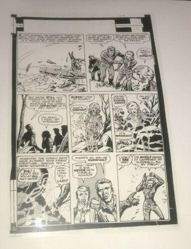 Fantastic Four Origin Human Torch Astonish Marvel Lot 3 Production Art Acetate