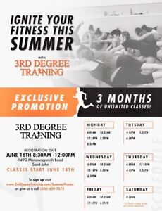 3rd Degree Training *FALL FITNESS CAMP*
