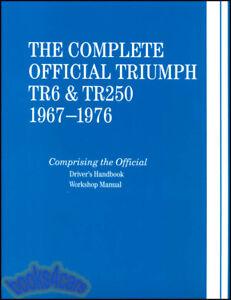 TR6 SHOP MANUAL TRIUMPH SERVICE REPAIR BOOK BENTLEY OFFICIAL WORKSHOP