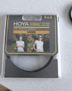 Filtre Hoya hmc uv(0) 77mm