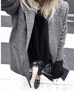 Mom-Jeans-ASOS-Taille-Haute-W30L32-Noir-Audrey-Lombard