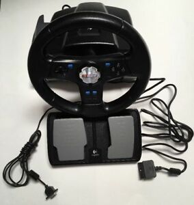 LOGITECH NASCAR RACING WHEEL&PEDALS CONTROLLER FOR PLAYSTATION2