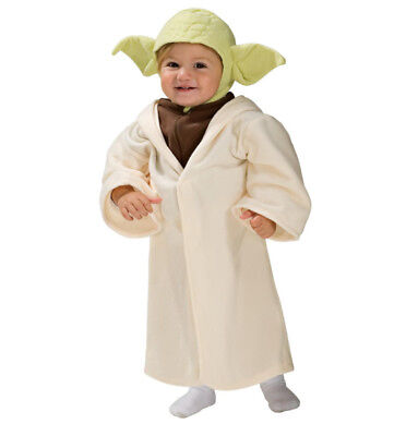 Disney Star Wars Yoda Halloween Costume Size 2T-3T -- Dress Up Yoda - Yoda Dress Up