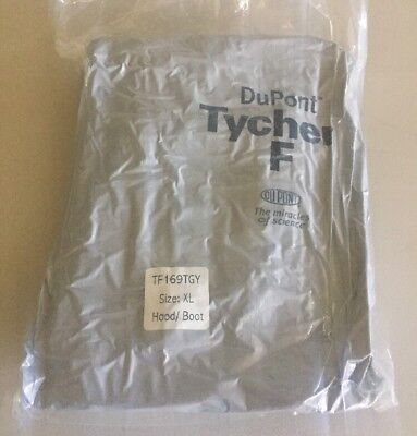 Dupont Tychem Type F High-performance Chemical Nbc Suit Size Xl - X-large Nip
