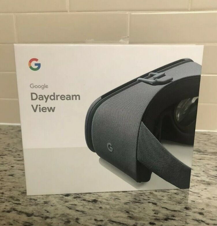 Google Daydream View Gen 2 VR Headset Fog  New Factory Sealed Virtual Reality