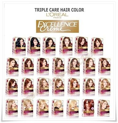 Triple Care Creme (L'OREAL PARIS EXCELLENCE Permanent CREME - TRIPLE CARE HAIR COLOR Shades)