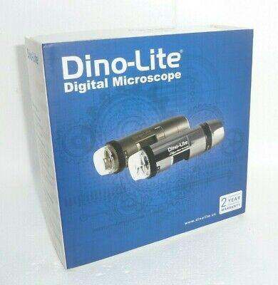 New Dino-lite Am3113r9 Digital Microscope Wstand - Usb - 10x230x Mag 30fps