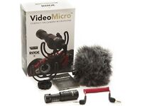 Rode VideoMicro Compact On Camera Microphone with SC7 iPhone Accessory
