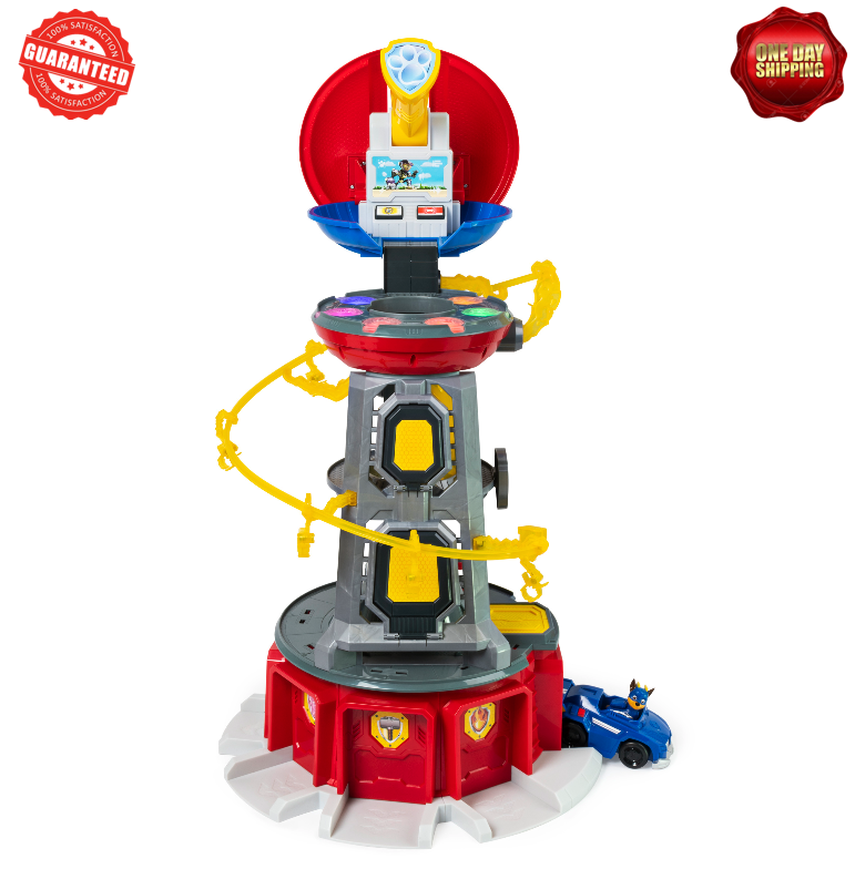paw patrol mighty pups super paws lookout