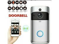 PIR INFRARED WLAN NIGHT VISION WIFI RING CAMERA DOORBELL WIRELESS (FREE DELIVERY)