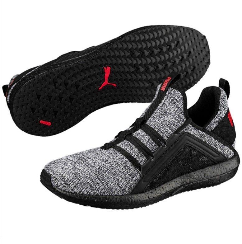 Details zu Puma Mega NRGY Gr. 44 Knit Herren Sneaker Schnürschuhe Halb Freizeit Schuhe NEU