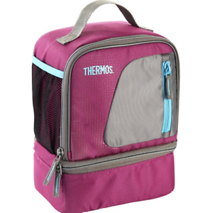 2 x Thermos Radiance Dual Compartment Lunch Insulated Cooler Bag Malvern Stonnington Area Preview
