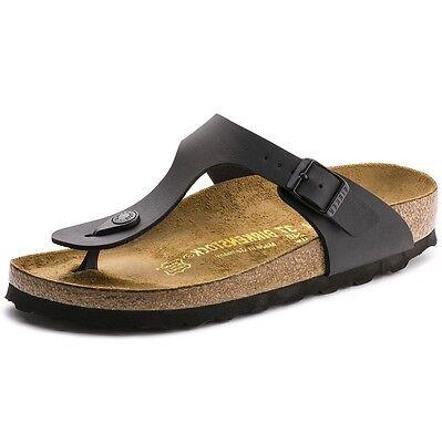 Birkenstock Gizeh Sandals- Black- Made in Germany - Size Eur