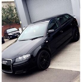 ALL BLACK AUDI A3 07-08 plate. BRAND NEW RECONDITIONED ENGINE & CAMBELT
