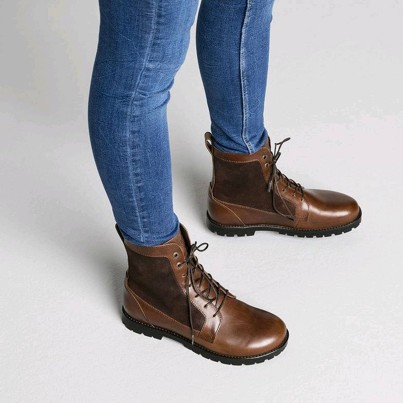a5d9e07083 BIRKENSTOCK GILFORD HIGH BROWN LEATHER ANKLE BOOTS LADIES SIZE 9 | in  Basingstoke, Hampshire | Gumtree