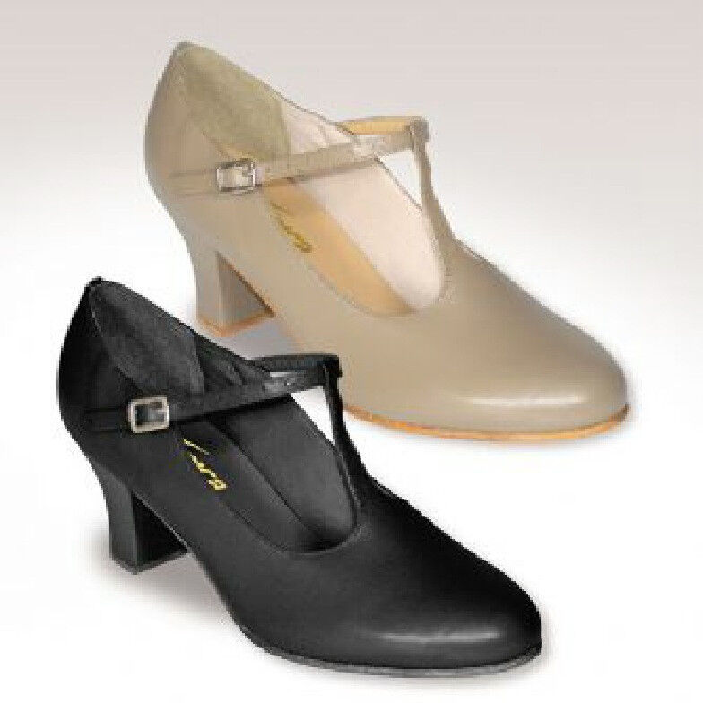 NEW CH 54 So Danca Caramel All Leather Character Shoes