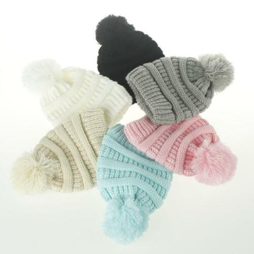Hot Toddler Kids Girl&Boy Baby Infant Winter Warm Crochet Knit Hat Beanie Cap