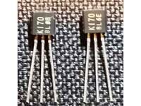 5pcs 2SK170-BL K170BL 2SK170 3 Pins DIP Original TOSHIBA FET D/'UK