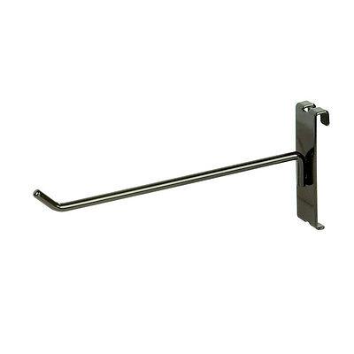 8 Gridwall Grid Panel Metal Hook - Black - 40 Pieces