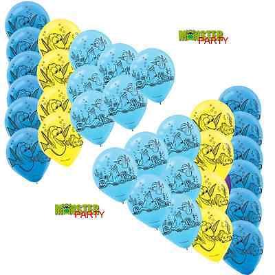 Nemo Birthday Decorations (36PC SET FINDING DORY BIRTHDAY PARTY DECORATIONS Balloons Latex Banners)