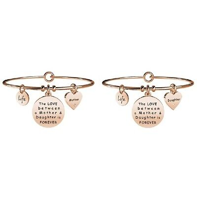 Kidult Bracelets Women's Collection Family Mother-Daughter Rose Gold 731021
