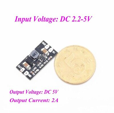 Filter Boost - DC-DC 3.7V to 5V 2A Boost Step up Module 1S Boost Module Through Filter Module