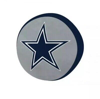 Dallas Cowboys NFL Plush Travel Cloud Pillow Throw Very Soft Navy Blue -